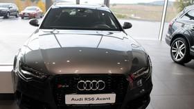 Terminál Audi v Kyjově u TOP CENTRUM car: Audi RS6 Avant