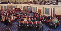 Američtí senátoři schválili pomoc ekonomice za téměř 2 biliony dolarů - anotační foto