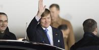 Nizozemský král Willém-Alexandr v Rusku.