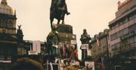 Demonstrace 17. listopadu 1989, Václavské náměstí