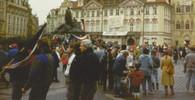 Demonstrace 17. listopadu 1989, Staroměstké náměstí