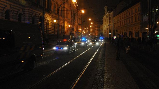 Demonstrace antifašistů, 17. 11. 2013, Praha