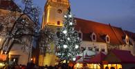 Vánoční trhy v Bratislavě na Hlavnom námestí