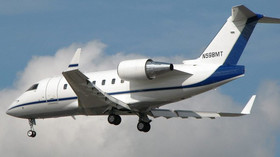 Bombardier Challenger 600 je rodina obchodních tryskových letadel vyráběných od roku 1978 kanadskou firmou Canadair. V roce 1986 se Canadair stal součástí Bombardier Aerospace. Foto: Adrian Pingstone