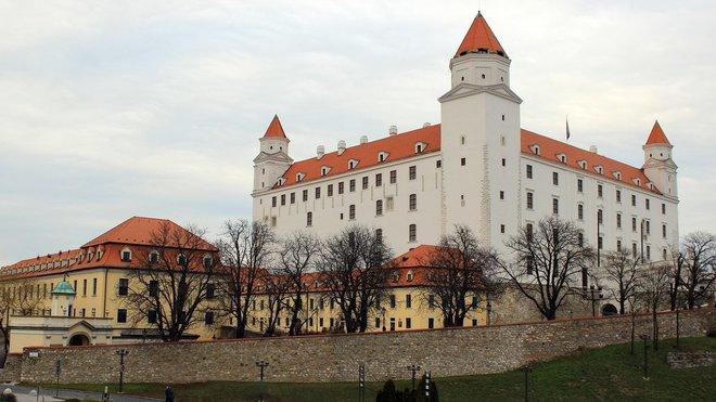 Bratislava, Slovensko - Bratislavský hrad