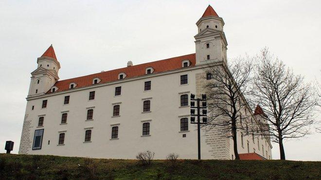 Bratsilava, Slovensko - Bratislavský hrad
