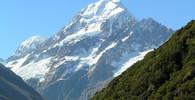 Mount Cook nebo Aoraki je s výškou 3754 m nejvyšší horou Nového Zélandu, autor: Mr. Tickle