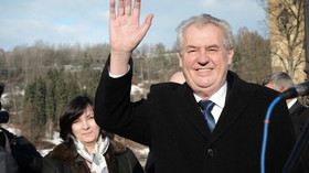 Návštěva prezidenta republiky Miloše Zemana v Karlovarském kraji