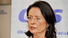 Miroslava Němcová v interview na 24. kongresu ODS