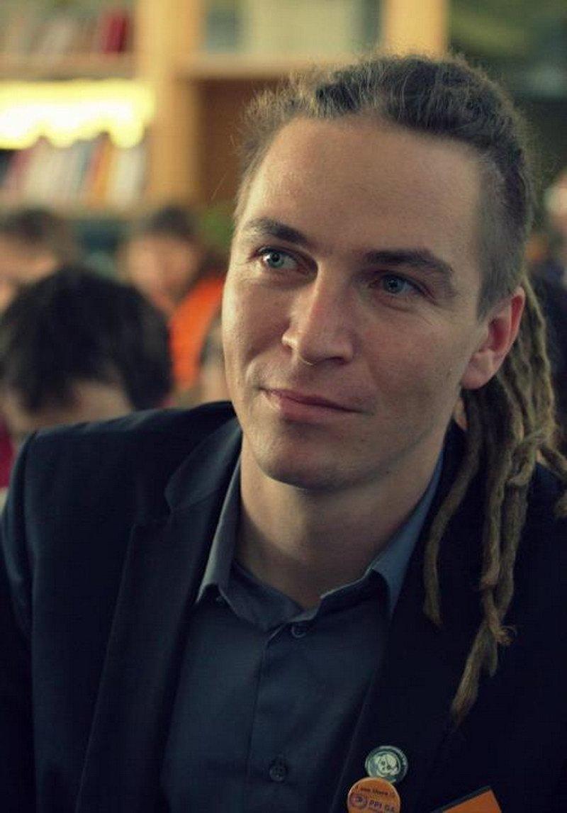 Ivan Bartoš je český politický aktivista a od října 2009, s přestávkou mezi červnem a zářím 2013, předseda České pirátské strany. Autor: Jori Bertel