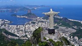 Socha Ježíše Krista v Rio de Janeriu.