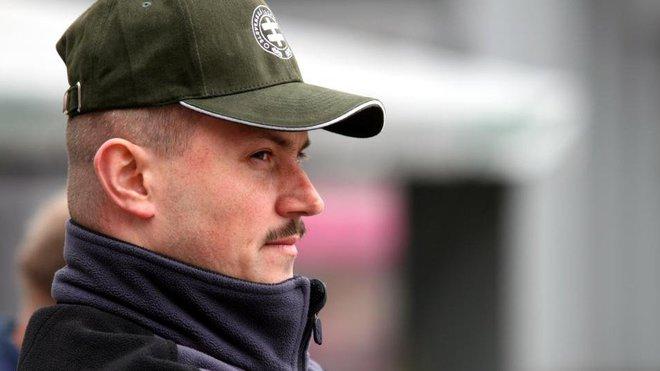 Slovenský extremista Marián Kotleba