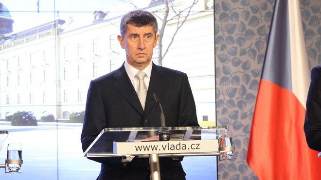 Andrej Babiš /ANO/, předseda vlády
