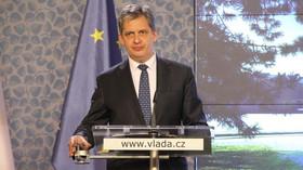 Jiří Dienstbier /ČSSD/, ministr pro lidská práva, rovné příležitosti a legislativu