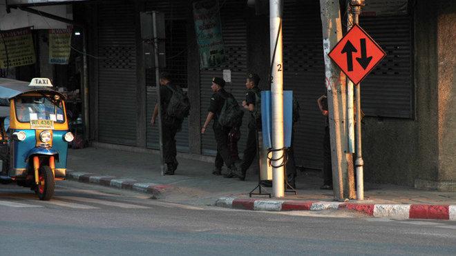 Thajští vojáci