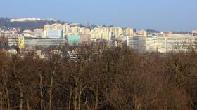 Bratislava, pohled na Krásnou horku a Vinohrady