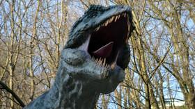 Dinopark je součástí Zoo v Bratislavě