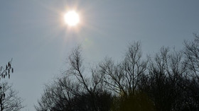 Sluneční svit, ilustrační fotografie