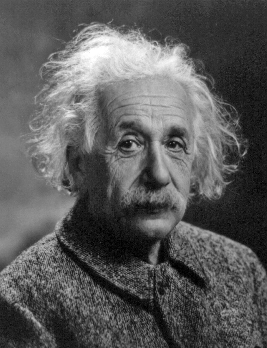 Albert Einstein, foto: Oren Jack Turner, Princeton, N.J.