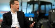 Medveděv se distancoval od článku o okupaci Československa - anotační obrázek