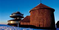 Krkonoše - Sněžka - dřevěná stavba