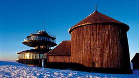 Silnější než orkán Kyrill. Na Sněžce foukalo rychlostí 180 km/h, na polské straně 223 km/hod - anotační foto
