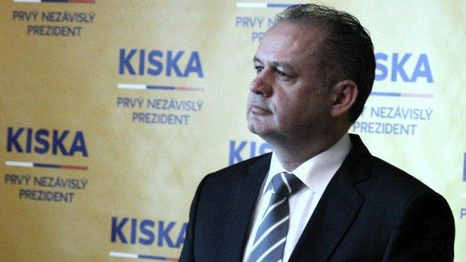 Andrej Kiska, slovenský prezident
