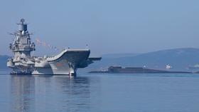 Problém ruské armády: Z jediné letadlové lodi Admirál Kuzněcov je hromada šrotu - anotační foto