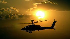 Vrtulník Apache U.S. Army