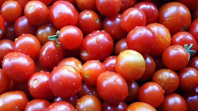Cherry rajčata, ilustrační fotografie