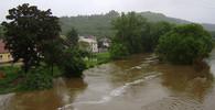 Západ Německa zasáhly silné záplavy - anotační obrázek