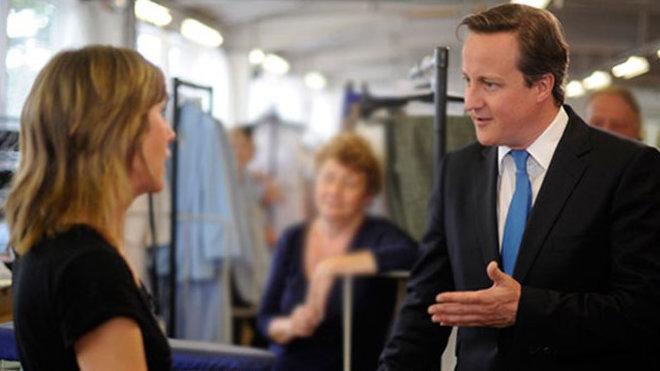 David Cameron /Konzervativní strana/, premiér Spojeného království