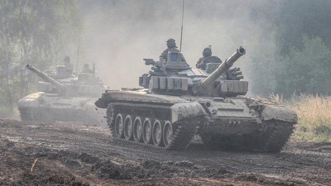 Česká armáda na akci Bahna.