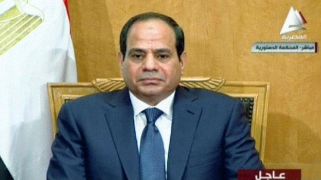 Nový egyptský prezident Abdal Fattáh Sísí