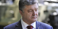 Porošenko se při cestě na Donbas dostal do přestřelky - anotační obrázek