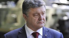 Porošenko zuří: Putin chce z Donbasu udělat ukrajinské Aleppo, Schválně útočí na civilisty - anotační foto