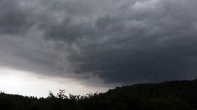 Silná bouřka udeřila v západních Čechách