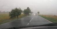 Česko zasáhly silné bouřky. Přívalové deště ochromují dopravu, padají kroupy - anotační foto