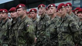 Pietního aktu se zúčastnili příslušníci 41. a 43. praporu 4. brigády rychlého nasazení