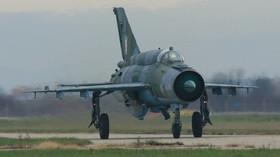 MiG-21 Croatian Air Force, foto: Goran Novačić