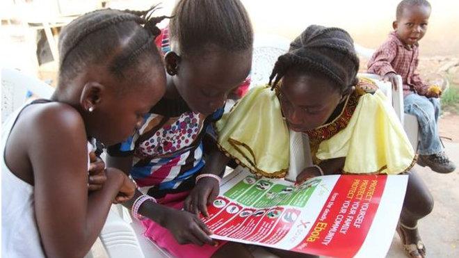 Africké děti, ilustrační fotgorafie