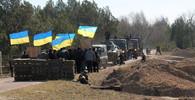 Ukrajinou otřásl výbuch, vůz OBSE řízený Čechem najel na minu - anotační obrázek