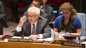 Vitalij Čurkin, ruský velvyslanec při OSN  (28.8.2014)