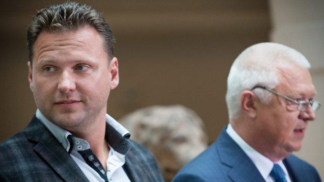 Jaroslav Faltýnek /ANO/ (vpravo)