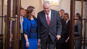 Prezident Zeman a Jaroslava Pokorná Jermanová