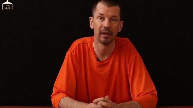 John Cantlie, britský novinář zadržovaný IS