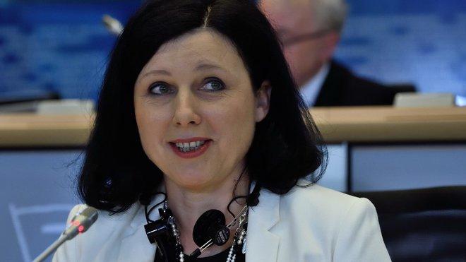 Věra Jourová, eurokomisařka