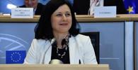 Jourová na návštěvě kritizovala Polsko: Tohle mi u vás vadí - anotační foto