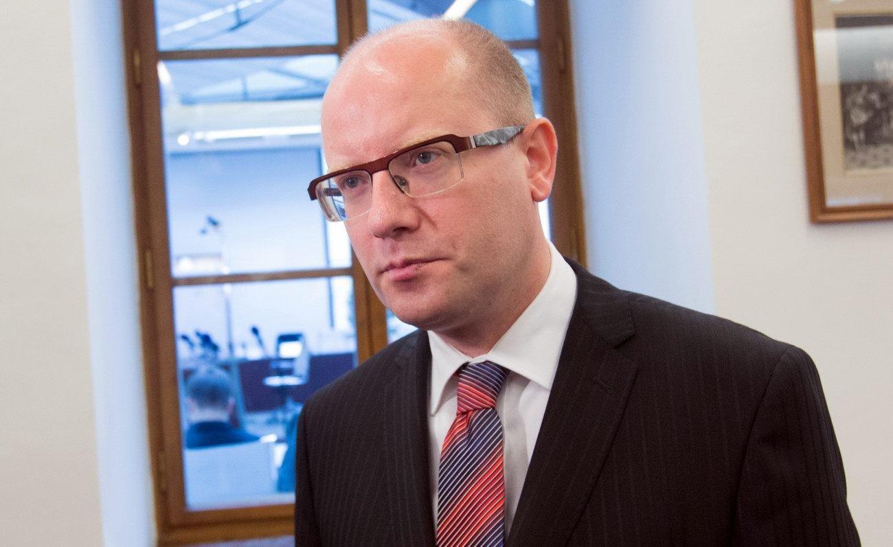 Bohuslav Sobotka /ČSSD/, předseda vlády České republiky