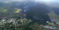 Havajská sopka vyvrhuje kusy skal, láva ohrožuje geotermální elektrárnu - anotační obrázek